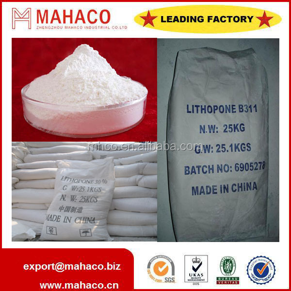 Manufacturer of Lithopone 30% 28-30% B311 B301