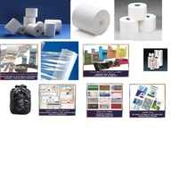 CASHIER ROLLS, THERMAL ROLLS IN ALL SIZES WITH 12MM CORE AND 18MM CORE,STRETCH FILMS, COMPUTER FORMS,PLASTIC BAGS