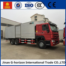4.3m length dry cargo body large capacity delivery cargo van truck