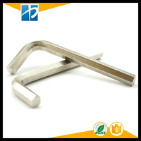 45# steel zinc plated hardness hexagon key