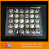 Cheap qualified Plastic quail egg tray quail egg cartons quail cages for sale