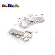 Metal Snap Hook Clips for Key Ring Bags Outdoor Activities Hanging Accessories #FLQ066