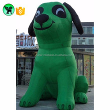 Hot sales giant inflatable dog model customization for outdoor decoration ST251