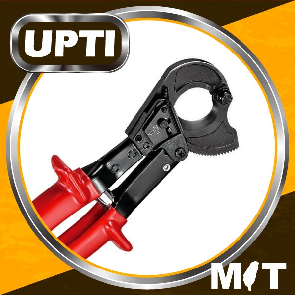 Taiwan Made High Quality Effort Saving Ratchet Action Cable Cutter