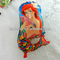 CE approved Mermaid shape cartoon balloons