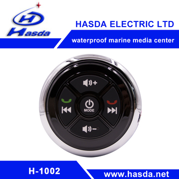 Waterproof marine player hot sales easy to use audio with car