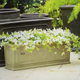 Superlucky classic clipped corner planter rectangle flowerpot