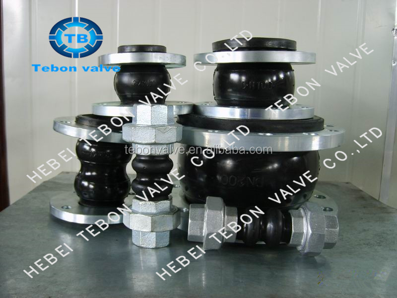 Screwed Union Type EPDM Rubber Expansion Joints/ for building galvanized ruber expansion joint/galvanized ruber expansion joint
