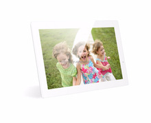 18.5inch lcd digital photo frame 1851W White picture frame