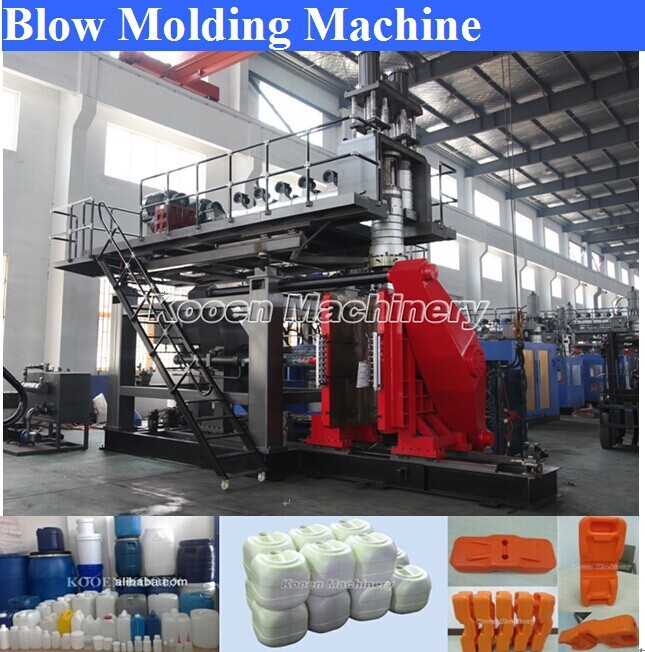 PE PP extrusion bottle making used blow moulding machine