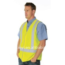 zhejiang EN471 class High Visibility Reflective safety vest