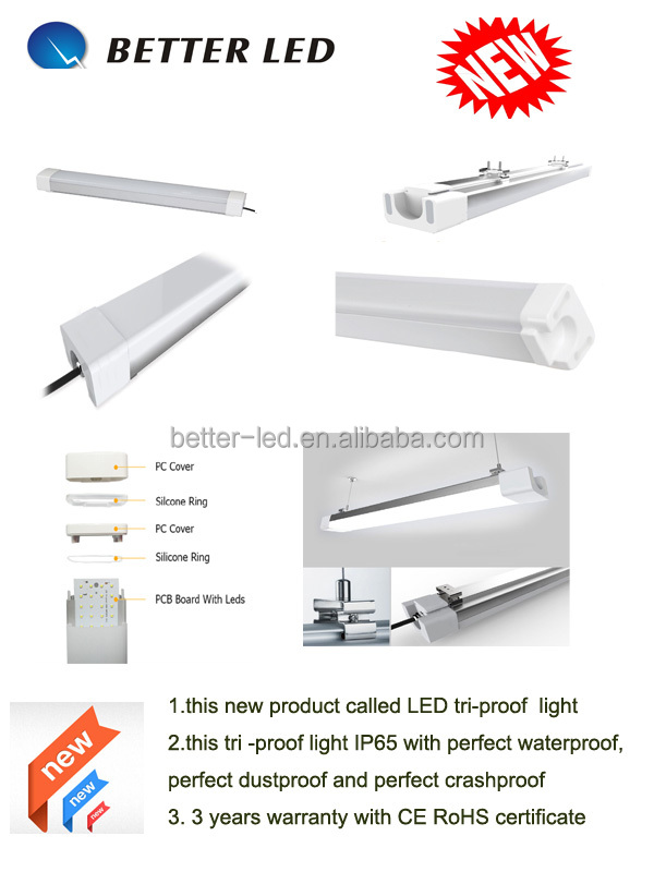 T8 LED Tube Waterproof IP65 triproof led tube light