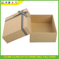 craft gift paper packaging box design