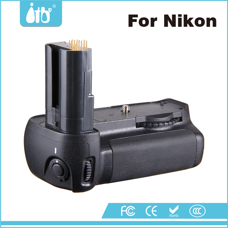 DLSR Accessories ITB-BG-2C High Quality Digital Camera Battery Grip for Nikon D80/D90 with EN-EL3e Battery Batteries