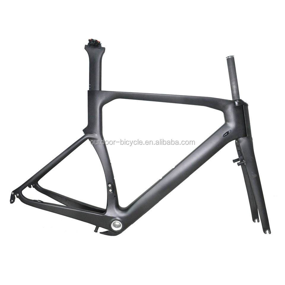 Hot selling aero carbon road frame FM206 made with Toray t800 material