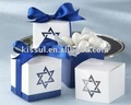 Star design Baby Favor box For Wedding and baby birthday gift in different colors