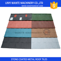 custom logos roofing metal shingles manufactured in China