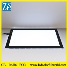 CE RoHs FCC Certificate Acrylic Ultra-Thin LED Illuminated Drawing board LED Light Tracing Box Dimmable LED Light Pad