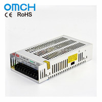 OMCH S-250 250W 5V 12V 24V 36V 48V DC Industrial Single Output Regulated Switching Adapter Power Supply