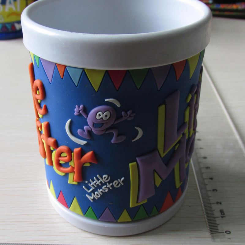 Best Prices custom design 3d pvc cartoon rubber mugs for kids with good offer