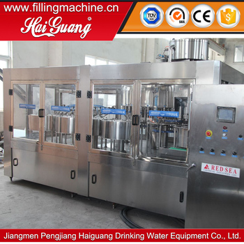 Factory price 330ml water bottle packing machine/bottle water making machine line