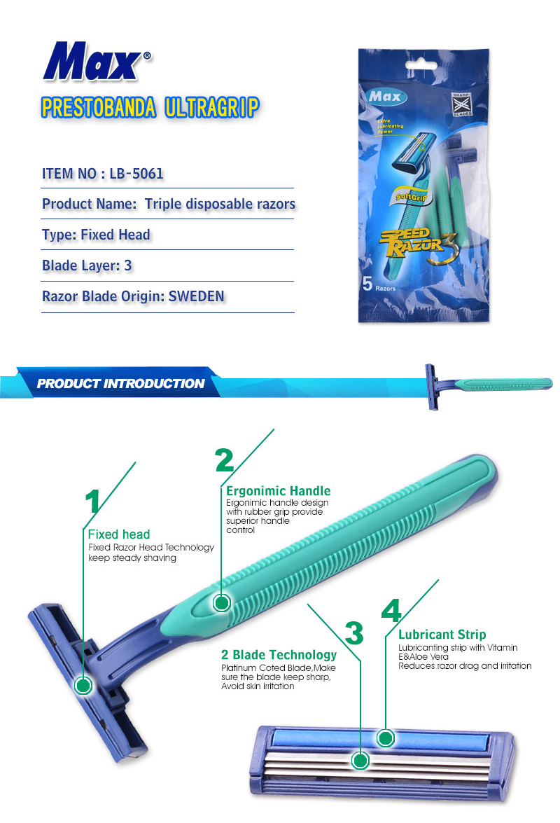 male razor smoothing razor