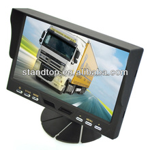 Super 7 inch Car TFT LCD Monitor with Sunshade