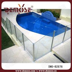 tempered glass 10mm 12mm child safety pool fence price