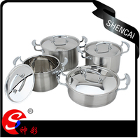 Eco-friendly High Quality Stainless Steel Cookware Set / Soup Stock Pot