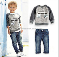 winner children's clothing two-pieces boys suits Jacket + jeans suit