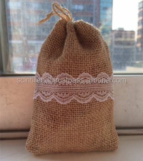 "Size:4""x5""(reference),jute pouch for jewelry or giveaway gift,jute drawstring bag,burlap bag"