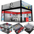 aluminum exhibition stand system trade show two story booth