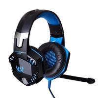 G2000 Best PC PS4 7.1 Gaming Headset with Mic LED Light for PC Gamer