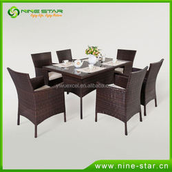 Professional Factory Cheap Wholesale Good Quality patio rattan sets with good offer