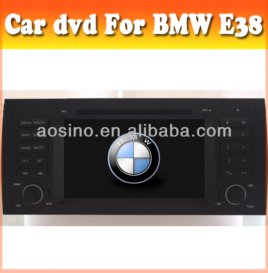 ASN car dvd player for BMW 7 Series E38 1995-2001 car audio radio with bluetooth gps car audio with bluetooth gps navigation