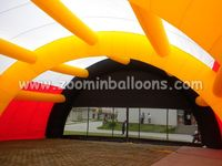 2016 Low price giant paintball tent inflatable tent for rental N5075