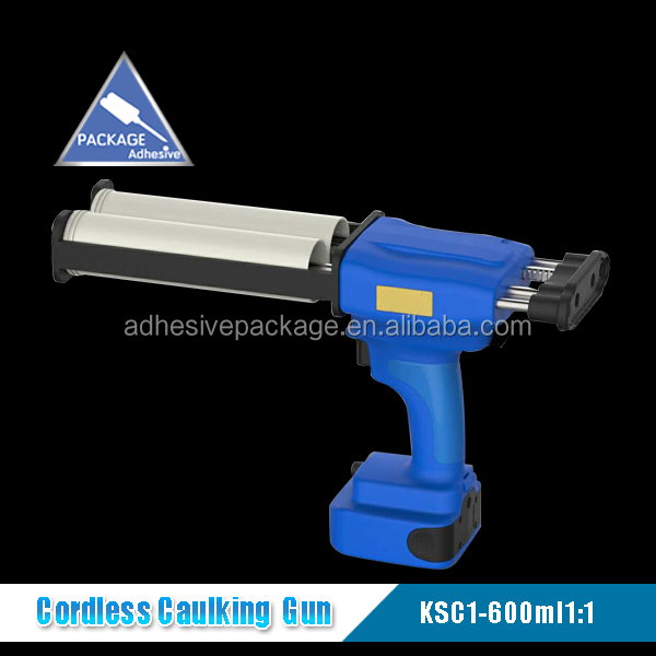 600ml 1:1 Double Cartridges Electric Caulking Gun For Silicone Adhesive