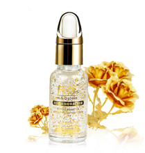 Whitening Moisturizing Hyaluronic Acid Liquid Anti-Aging Anti-Wrinkle Skin Treatment 24k Gold Pure Foil Face Care Cream