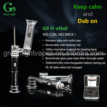 New products 2016 innovative product portable enail G9 henail