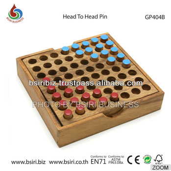 wooden games and puzzles Head to Head Pin