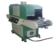 Round/Plane Surface UV Drying Machinery/photo crystal uv curing machine