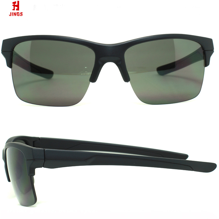 2018 trend casual mens sunglasses halframe polarized sports glasses