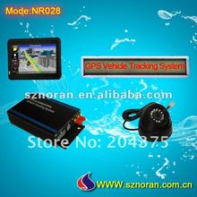4.3inch HD navigation screen car gps/gsm/gprs tracker with LED screen optional