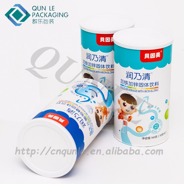 Custom Hermetic Aluminum Foil Paper Food Can for Muesli & Cereals Packaging