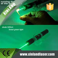 520nm 50mw Single Mode Green Laser Pointer, handheld laser 50mw