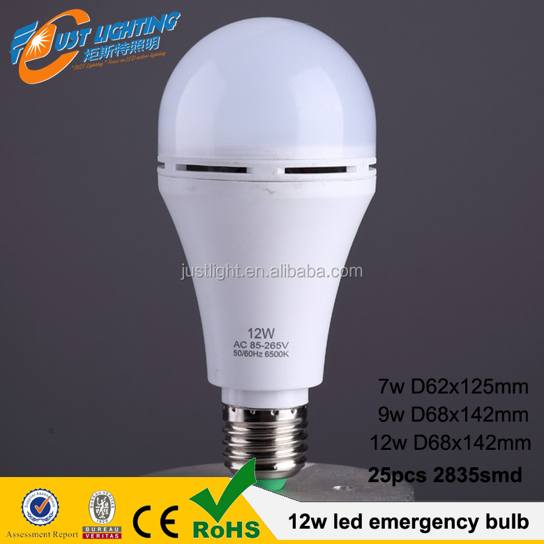 NEW 12W Rechargeable LED Emergency <strong>Bulb</strong> Light 12W E27 intelligent <strong>bulb</strong> light with built-in battery <strong>bulb</strong>