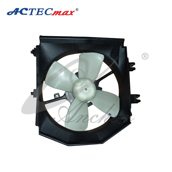 Car care Replacement AC condenser cooling fan assembly with blower motors