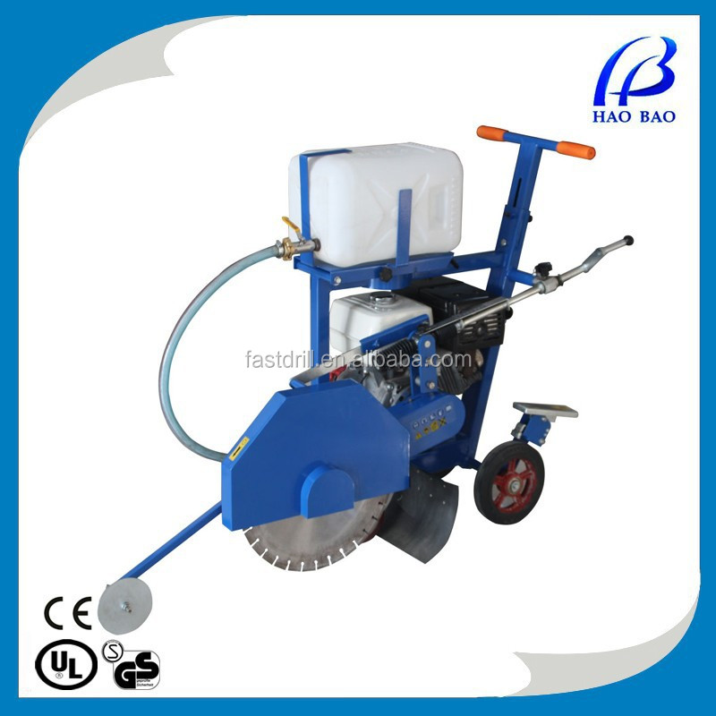 HXR450H gasoline 13HP usd concrete cut off saw asphalt road cutter
