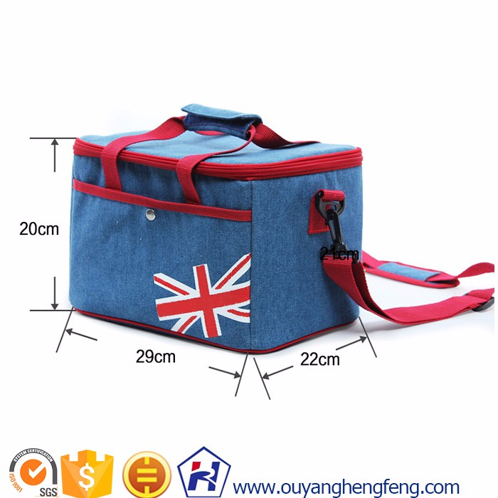 China portable customized cooler bag for frozen food