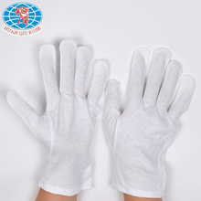 100% cotton material cotton Inspection working glove etiquette gloves